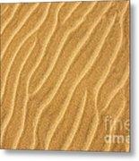 Sand Ripples Abstract Metal Print by Elena Elisseeva