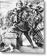 Santa Claus Metal Print by Granger