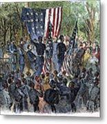 Sc: Emancipation, 1863 Metal Print by Granger