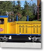 Scale Locomotive - Traintown Sonoma California - 5d19237 Metal Print by Wingsdomain Art and Photography