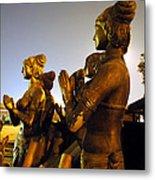 Sculpture Of Women Metal Print by Sumit Mehndiratta