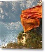 Sea Breeze Butterfly Metal Print by Daniel Eskridge