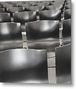 Sea Of Seats I Metal Print by Anna Villarreal Garbis