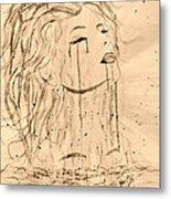 Sea Woman 2 Metal Print by Georgeta  Blanaru