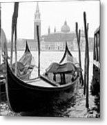 Seagull From Venice - Venezia Metal Print by Bronco - J. Heiligensetzer