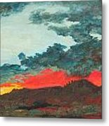 Sedona Sunset Metal Print by Sandy Tracey