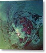 Serpent Head Metal Print by Linda Sannuti
