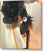 She Comes In Light Metal Print by Jozy Me