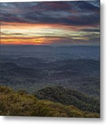 Shenandoah Sunset Metal Print by Pierre Leclerc Photography