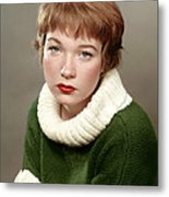 Shirley Maclaine, Late 1950s Metal Print by Everett
