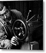 Shoemaker Metal Print by Ilker Goksen