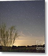 Shooting Star Metal Print by Andre Goncalves