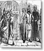 Siege Of Baghdad, 1258 Metal Print by Granger