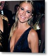 Sienna Miller At Arrivals For Part 2 - Metal Print by Everett