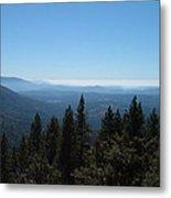 Sierra Nevada Mountains Metal Print by Naxart Studio