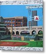 Signed Minute Maid Metal Print by Leo Artist