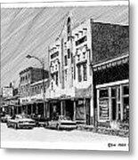 Silver City New Mexico Metal Print by Jack Pumphrey