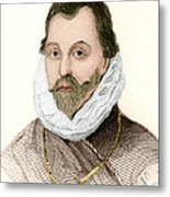 Sir Francis Drake, English Explorer Metal Print by Sheila Terry