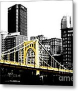 Sister #2 In Pittsburgh Metal Print by Paul Henry