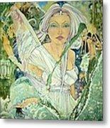 Sister Angel Metal Print by Jackie Rock
