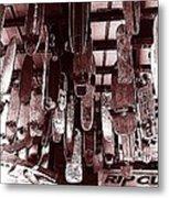 Skate Shop Metal Print by Jame Hayes