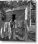 Slave's Quarters Metal Print by Bourbon  Street