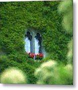Sleeping Beautys Castle -- Dornroeschens Schloss Metal Print by Arthur V Kuhrmeier