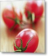 Small Tomatoes Metal Print by Elena Elisseeva