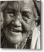 Smile Metal Print by Skip Nall