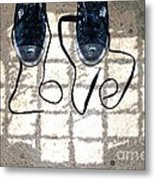 Sneaker Love 1 Metal Print by Paul Ward