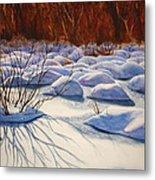 Snow Mounds Metal Print by Daydre Hamilton