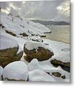 Snowcapped Metal Print by Idaho Scenic Images Linda Lantzy