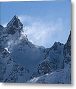 Snowdrift Formation Metal Print by Dr Juerg Alean