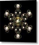 Snowflake Jewel Metal Print by Hakon Soreide