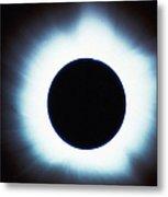 Solar Eclipse Metal Print by Stocktrek Images