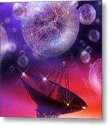 Solving The Universe's Mysteries, Artwork Metal Print by Detlev Van Ravenswaay