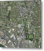 Southampton,uk, Aerial Image Metal Print by Getmapping Plc