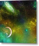 Space001 Metal Print by Svetlana Sewell