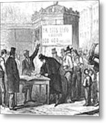 Spain: Abolitionists, 1869 Metal Print by Granger
