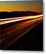 Speed Of Light Metal Print by James Marvin Phelps