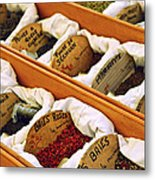 Spices On The Market Metal Print by Elena Elisseeva