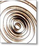 Spiral Metal Print by Bernard Jaubert