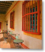 Spot For Refreshments Metal Print by Steven Ainsworth