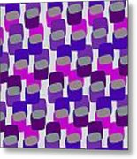 Squares Metal Print by Louisa Knight