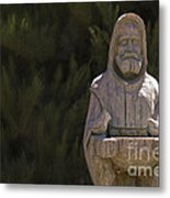 St. Francis Metal Print by Catherine Fenner