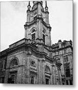 St Georges-tron Church Nelson Mandela Place Glasgow Scotland Uk Metal Print by Joe Fox