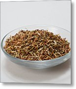 St Johns Wort Dried Herb Metal Print by Photo Researchers, Inc.