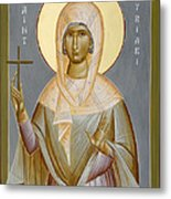 St Kyriaki Metal Print by Julia Bridget Hayes