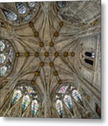 St Mary's Ceiling Metal Print by Adrian Evans