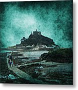 St Michaels Mount Metal Print by Svetlana Sewell